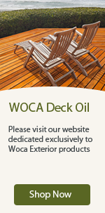 WOCA exterior products from WOCA Deck Oil